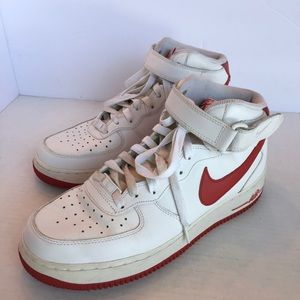 Nike Air Force 1 Mid '07 Red/White